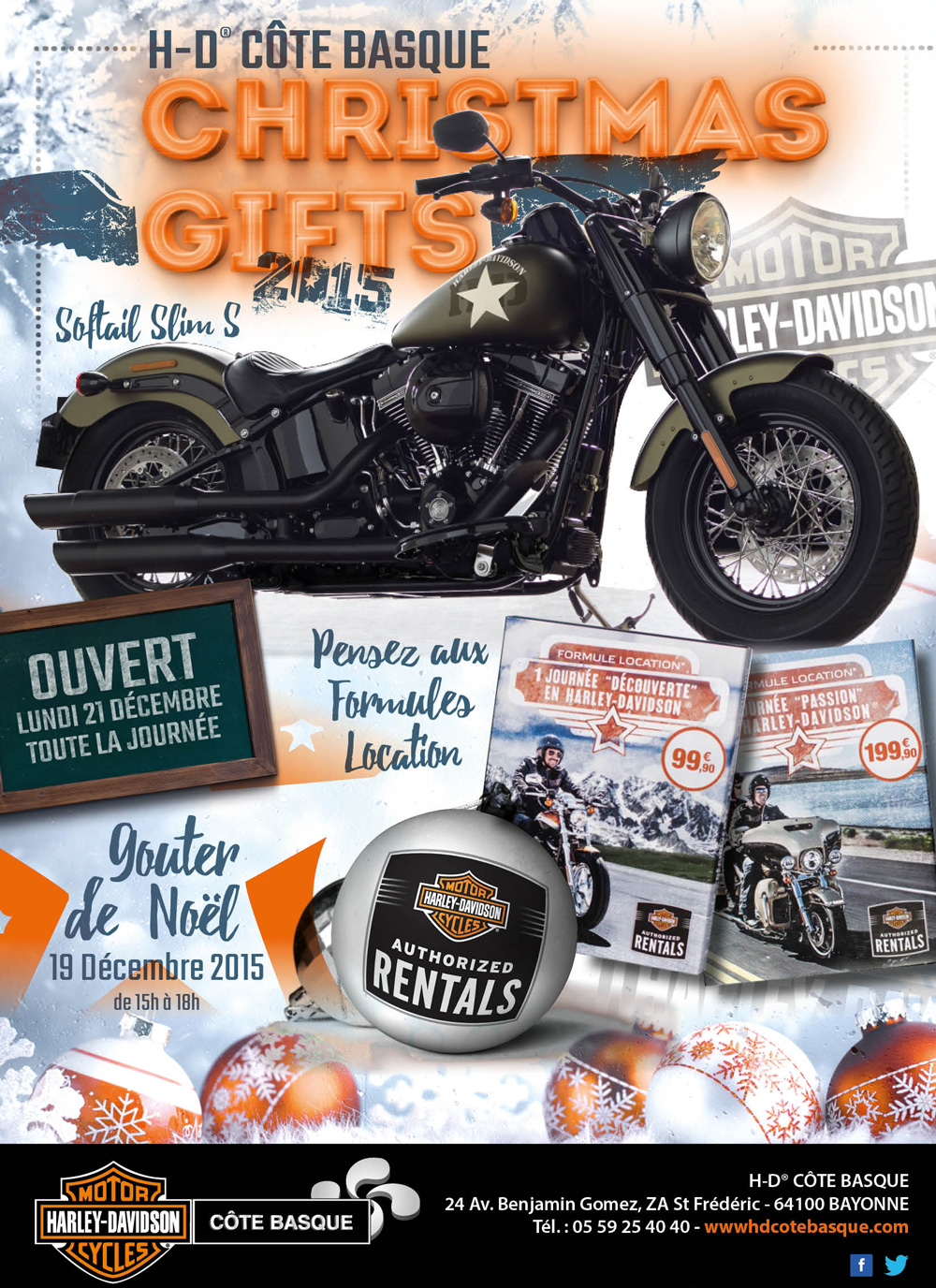 Christmas Gifts | Concessionnaire Officiel Harley-Davidson® Côte Basque